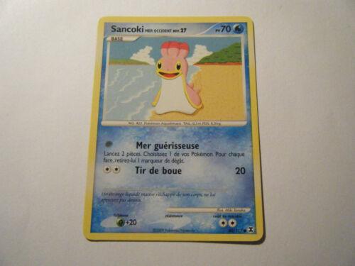 Pokemon Platine Rivaux Emergeants 80//111 - Niv.27-70PV Sancoki Mer Occid