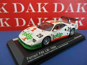 Die-cast-1-43-Modellino-Auto-Ferrari-F40-LM-Totip-24H-Le-Mans-1994