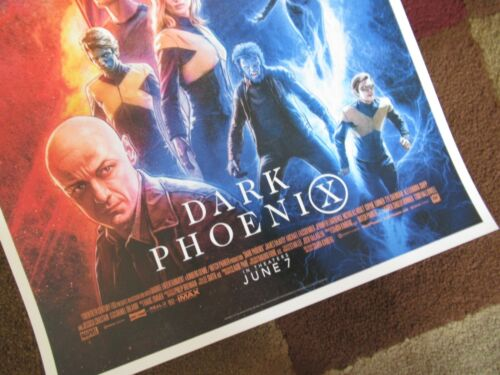 "11/"" x 17/"" Movie Collector/'s Poster Print - B2G1F T3 Dark Phoenix"