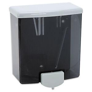 Bobrick ClassicSeries Surface-Mounte<wbr/>d Soap Dispenser 40oz Black/Gray