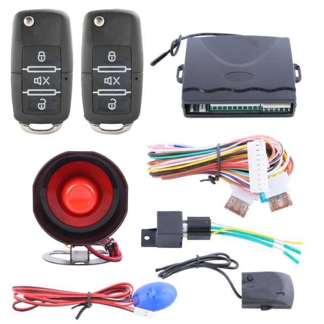 Quality Car Alarm system remote lock unlock keyless entry central door locking