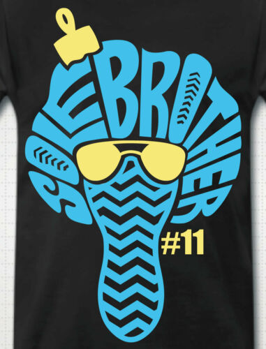 """/""""SOLE BROTHER #11/"""" T-Shirt to Match Retro 11 /""""GAMMA BLUE/"""""""