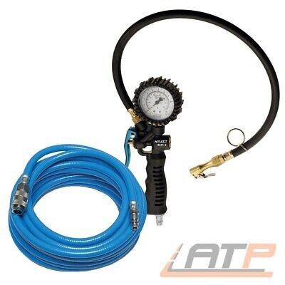 Hazet 9041-1 Druckluft Reifenfüller Messgerät Manometer bis 12 bar