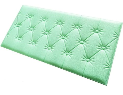60*30cm 3D Foam Waterproof Self Adhesive Wall Sticker For Living Room Bedroom @@