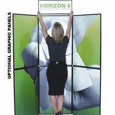 Horizon 6 Folding Trade Show Fabric Panel Display