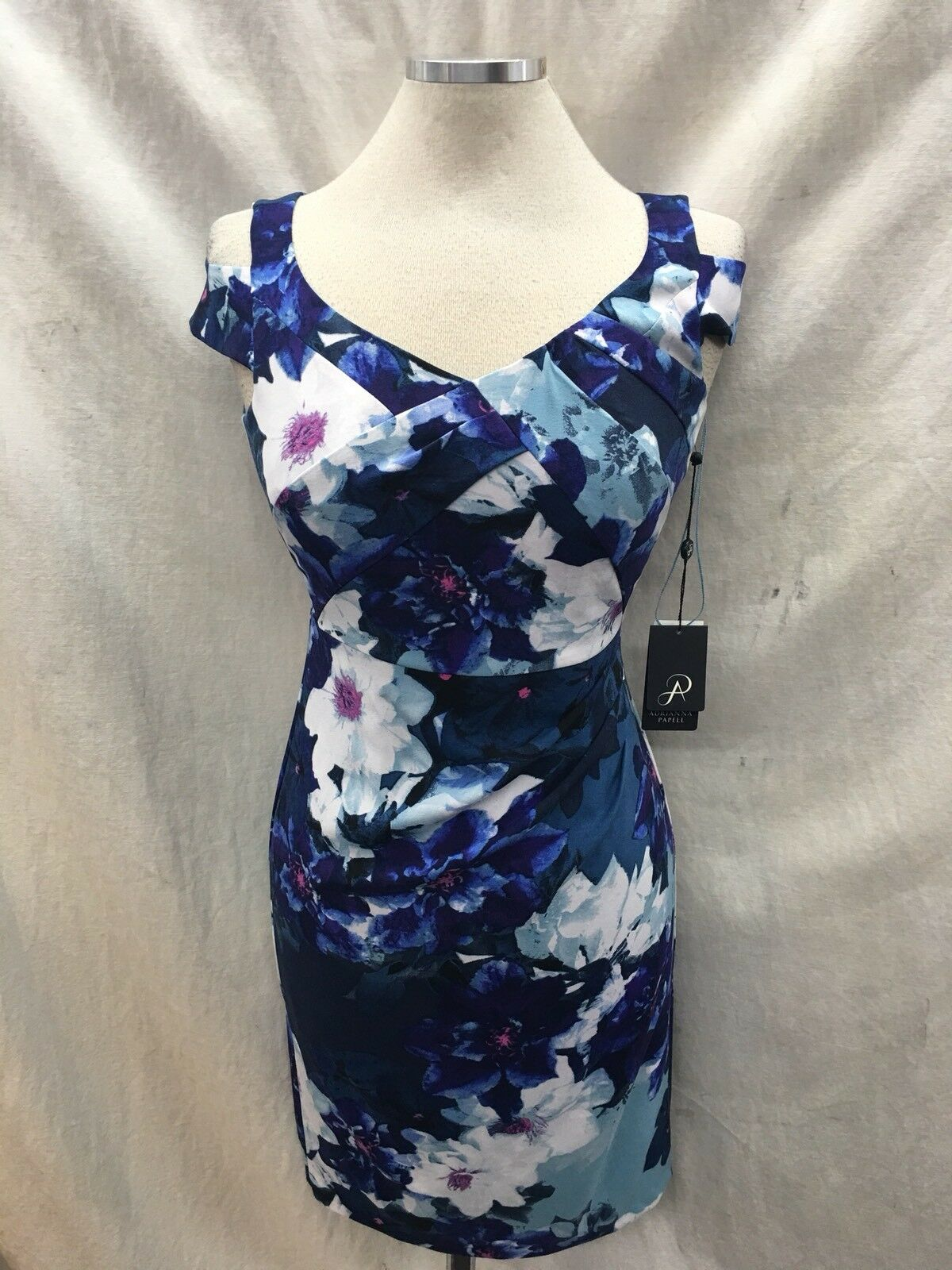 ADRIANNA PAPELL DRESS NEW WITH TAG SIZE SIZE SIZE 0 LENGTH 35' LINED RETAIL 140  b768e8