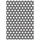 Kaisercraft Embossing Folder 5x7 Honey Comb