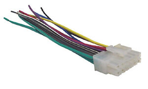 dual car audio wiring harness stereo 12 pin wire connector xr4115 rh ebay com 20 Pin Wiring Harness Connectors 3 Pin Wiring Harness Connectors