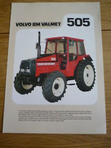 volvo bm valmet 505 tractor brochure jm ebay rh ebay com  valmet 505 specs