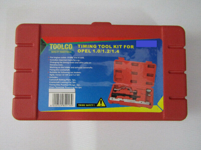 OPEL 1 0 / 1 2 /1 4 TIMING TOOL KIT | Bluff | Gumtree