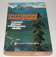 Outdoor Survival - A Game About Wilderness Skill by Avalon Hill 1972 - Unpunched