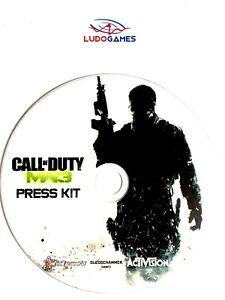 Call-Of-Duty-Modern-Warfare-3-Press-Kit-Disque-PS3-PLAYSTATION-Videojuego-Retro