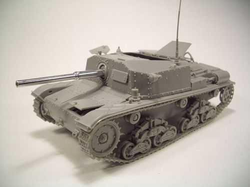 Brach Model  Italian Self-Propelled m42 75 \ 34 1 35 cod.bm098  bénéfice nul