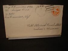 USS CHICAGO CA-136 Naval Cover 1946 Sailor's Mail