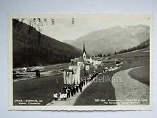 PENNES PENS Bolzano processione Sarntal Sarentino Dolomiti vecchia cartolina