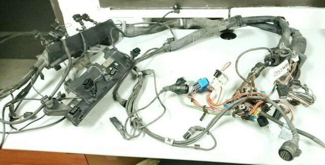 bmw e53 x5 4.4i engine motorkabelbaum wiring harness rhd m62 1438902  1440316 for sale online   ebay  ebay