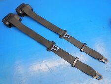 Porsche 964 Carrera 2/4 OEM Black Rear Seatbelts Left & Right 9648030210270B *SP