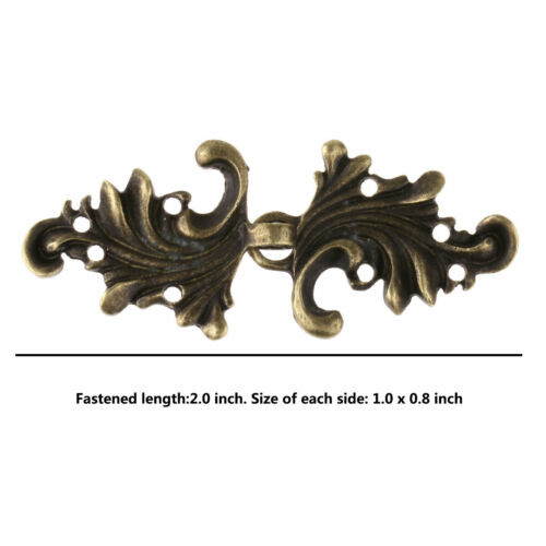 5 Pairs Chinese Style Button Cape Clips Cloak Clasp Fastener Sew Hook Brooch Pin