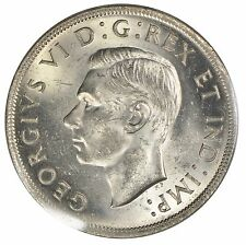 1938 Canada $1 Silver Dollar - ICCS MS63 - See Photos