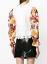 MSGM-Floral-Balloon-Puff-Sleeves-White-Lace-Top-UK-16 miniatuur 7