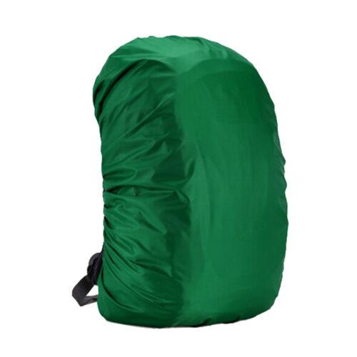 1X Waterproof Dust Rain Cover Travel Hiking Backpack Camping Rucksack Bag FO