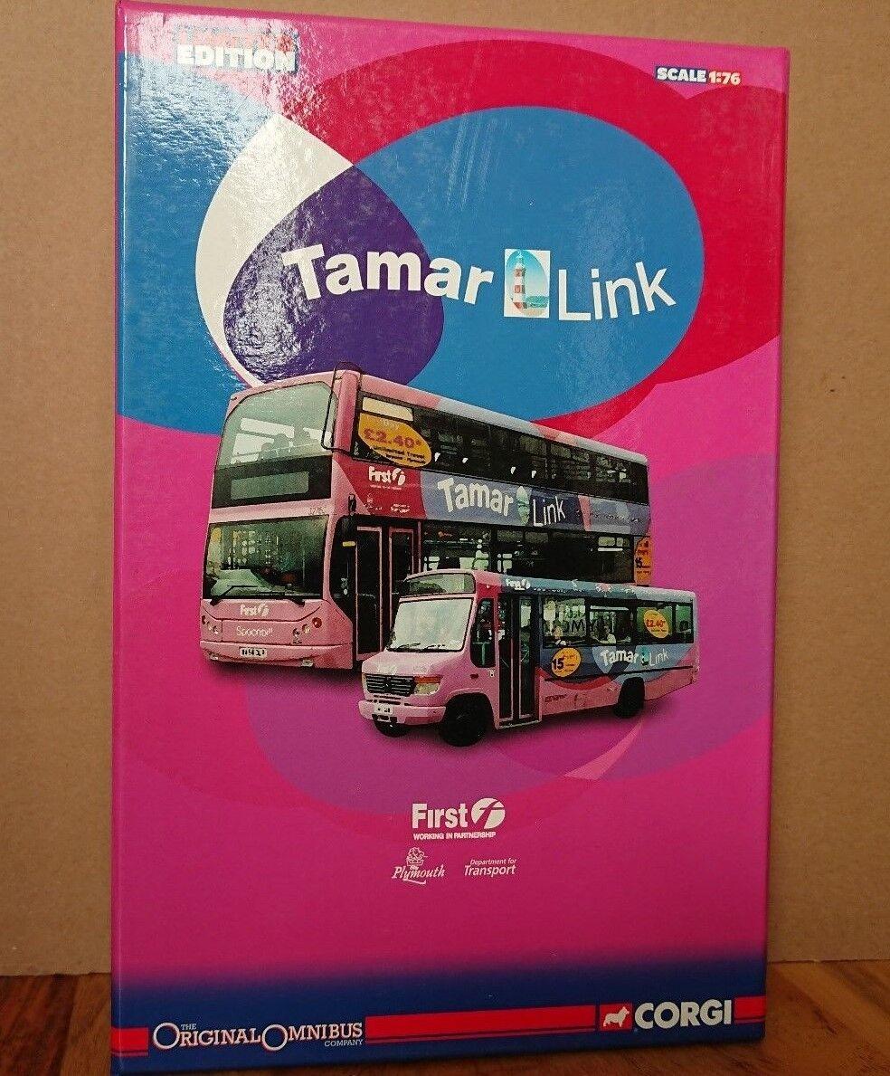 Corgi om99191 original omnibus tamar link set ltd ausgabe nr. 0003 von 2210