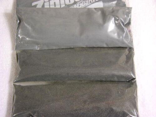 Rock tumbling silicon carbide grit set 3 stage coarse,medium,fine w//instruction