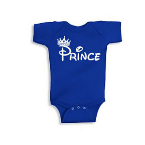 Details about  /Prince Baby Creeper Baby Announcement shirt~ Prince Baby Shirt
