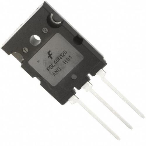 2PCS X FGL40N120ANDTU IGBT 1200V 64A 500W TO264 Fairchild