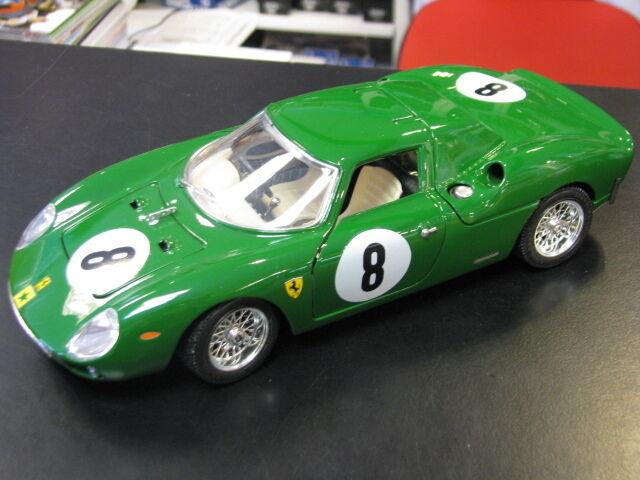 Bburago Ferrari 250 LM 1 18  8 groen (B) (lim edition 1000 pcs)