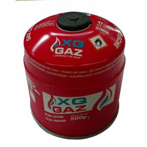 XQ-Gas Gaskartusche 500 Gramm Butangas Propangas Kocher Kartusche 100g = 2,19 €