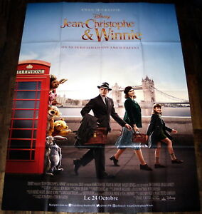 CHRiSTOPHER-ROBiN-Ewan-McGregor-Disney-Winnie-the-Pooh-LARGE-French-POSTER