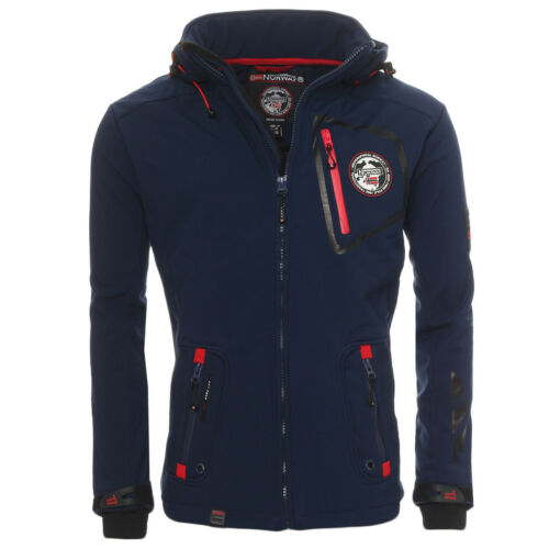 Geographical Norway Tender Men/'s Softshell Jacket Outdoor Functional Jacket