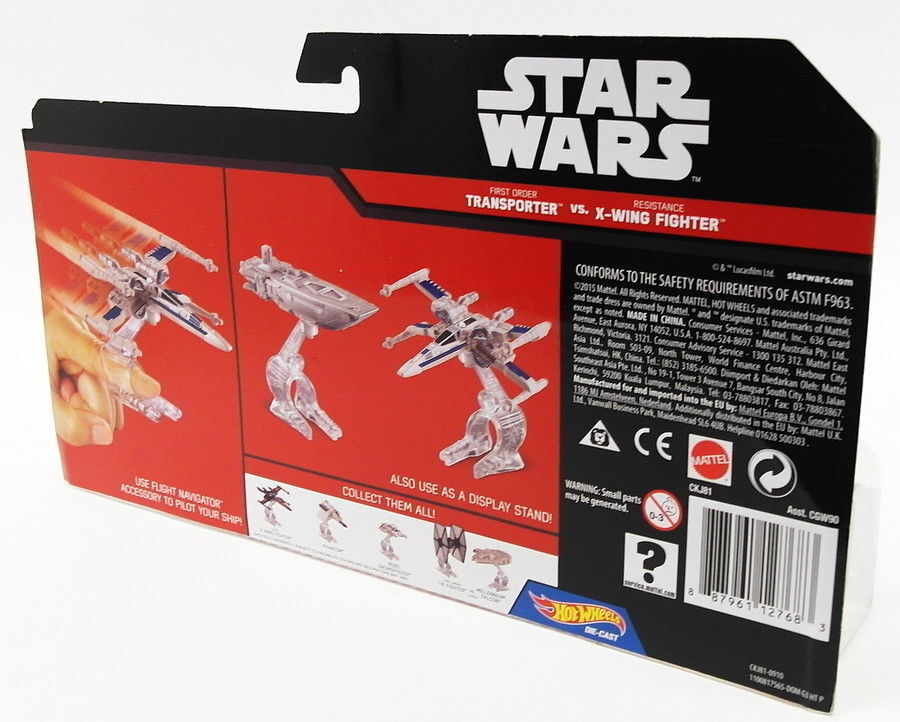 Hot Wheels Diecast 12768 12768 12768 - Star Wars Transporter v X-Wing Fighter 39db02