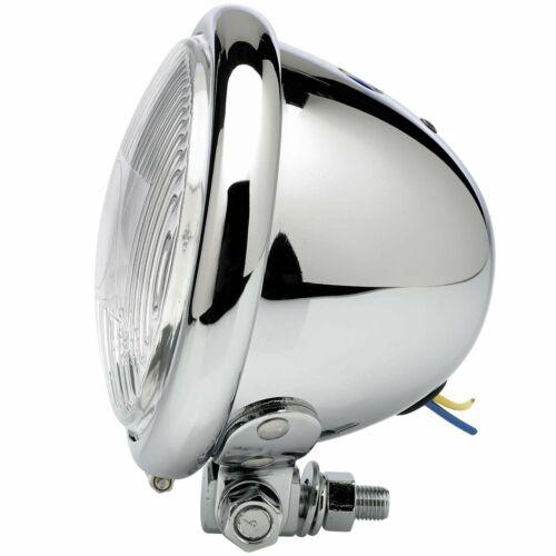 """4-1//2/"""" diameter Chrome Early Model Headlight"""