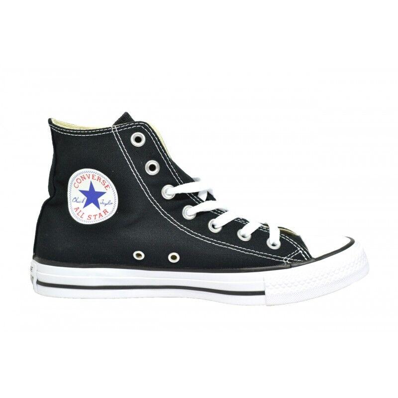 CONVERSE STAR ALL STAR CONVERSE HI ALTA classica UNISEX colore Nero/bianco 6742ed