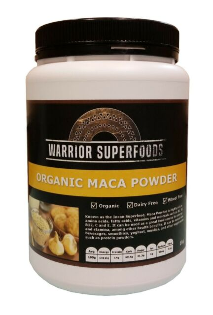 MACA POWDER - 1kg | Peruvian | USDA Certified Organic | Raw