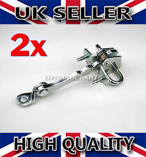 ALFA ROMEO 147 / GT 3 DOOR PAIR OF CHECK STRAP STOPPER RIGHT AND LEFT