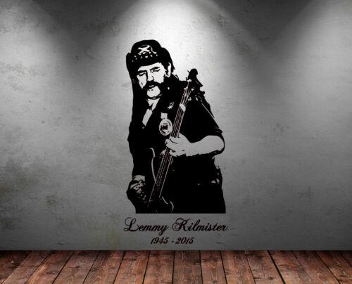 Grand Lemmy Tête Moteur Guitare Rock Legend Raclette Gratuite