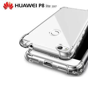 Funda Gel Tpu Transparente Antigolpes Para Huawei P8 Lite 2017 Ebay