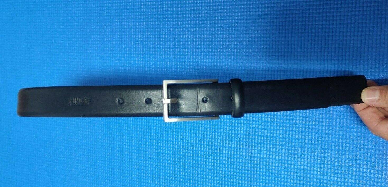 Ledergürtel von Cinque, 85cm/32inch, schwarz, 3cm Breit
