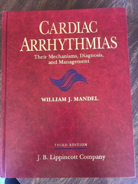 Cardiac Arrhythmias by Mandel, William J. Third/3rd Edition - Hardback BRAND NEW