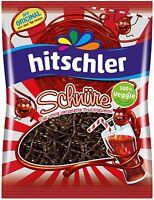 (100g=0,95€) Hitschler Cola Schnüre - Fruchtgummi Schnüre - 125g
