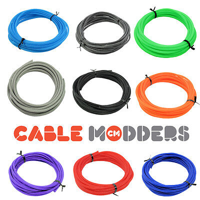 Cable Modders U-HD Expandable Braid Sleeving 10 Colours All Sizes