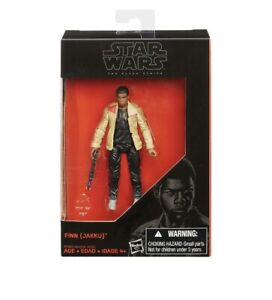 "B5007 3.75/"" Action Figure Jakku Hasbro Star Wars New The Black Series Finn"