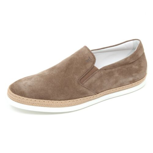 Shoe On Marrone D2324 Tod's Scarpa Man Torba Uomo Sneaker Slip gIO0I8x