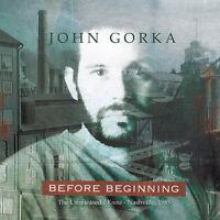 John Gorka - Before Beginning [new Cd] on Sale