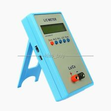 Handheld LC200A L/C Inductance Inductor Capacitance Meter digital bridge LCR TES