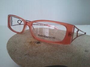 Rocco-Barocco-occhiale-da-vista-modello-RB-321-asta-forchetta-aranione-plastica