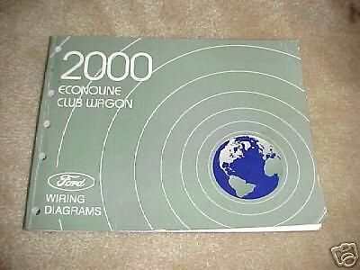 2000 Ford Econoline, Club Wagon Wiring Diagrams | eBay